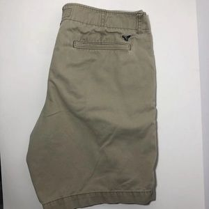 Men's American Eagle Classic Khaki Shorts 34